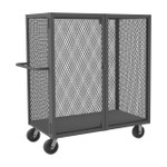 DURHAM HTL-3672-DD-95, Cage Truck, low deck and pad lock