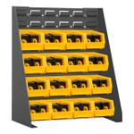 DURHAM LPRSS-17.25X20-95, Louvered Panel Rack, 17.25 x 20