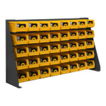 DURHAM LPRSS-34.5X20-95, Louvered Panel Rack, 34.5 x 20