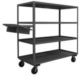 DURHAM OPCPFS-306065-4-6PH-95, Order Picking Cart, storage pocket