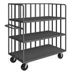 DURHAM OPT-6024-3-6PH-95, Open portable truck, 3 shelves