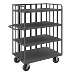 DURHAM OPT-7224-95, Open Portable Truck, 4 shelves