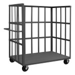 DURHAM OPT-7236-1-6PH-95, Open Portable Truck, 1 shelf