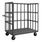 DURHAM OPTFB-4830-1-6MR-95, Open Portable Truck, 1 shelf