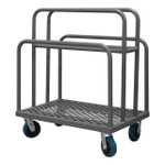 DURHAM PMWP-2436-6PU-95, Panel Moving Truck, 4 welded dividers