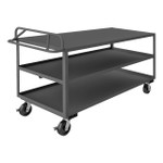 DURHAM RSCE-3072-3-3.6K-TLD-95, Stock cart, 3 shelf, ergo handle