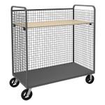 DURHAM W3ST-304868-1AS-8MR95, Wire Cart, 1 adjustable shelf