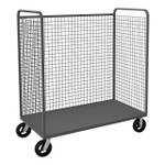 DURHAM W3ST-306068-1-8MR95, Wire Cart, 1 shelf