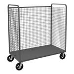 DURHAM W3ST-306068-1-8MR95, Wire Cart, 1 shelf