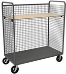 DURHAM W3ST-306068-1AS-8MR95, Wire Cart, 1 adjustable shelf