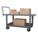DURHAM WHPTA30605PH95, Adjustable 2 Deck Platform Truck