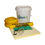 5 Gallon Bucket Spill Kit - HazMat by SpillKit.com