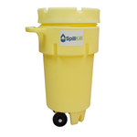 50 Gallon Wheeled Overpack Salvage Drum Spill Kit - HazMat by SpillKit.com