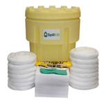 95 Gallon Overpack Salvage Drum Spill Kit - Oil Only by SpillKit.com