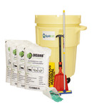 ENSORB Granular 95-Gallon Wheeled Salvage Drum Spill Kit by SpillKit.com