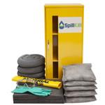 Wall-Mount Spill Locker Spill Kit - Universal by SpillKit.com
