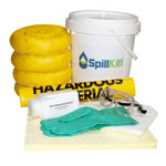 Battery Acid Spill Kit - 5 Gallon Safety Pail by SpillKit.com