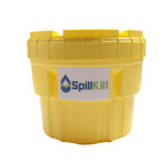 Battery Acid Spill Kit - 20 Gallon Overpack Salvage Drum by SpillKit.com