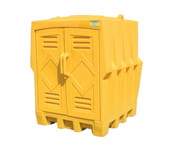 4 Drum Poly Outdoor Storage Building
