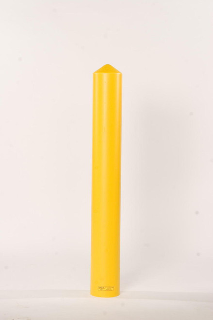 "4"" Bumper Post Sleeve-Smooth Sided-Yellow"