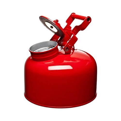 Galvanized Steel - Red - 5 Gal.