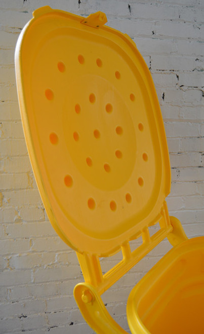 95 Gal Wheeled Spill Kit E-Cart w/Lid-Yellow