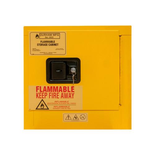 DURHAM 1002M-50, Flammable storage, 2 gallon, manual