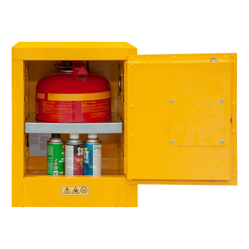 DURHAM 1004M-50, Flammable storage, 4 gallon, manual