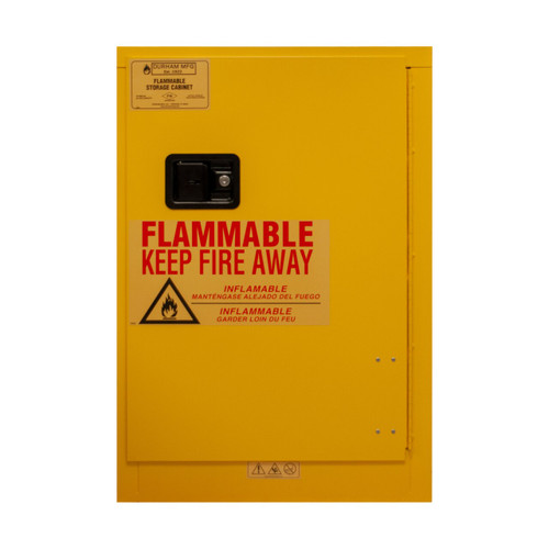 DURHAM 1012MA-50, Flammable storage, 24 cans, manual