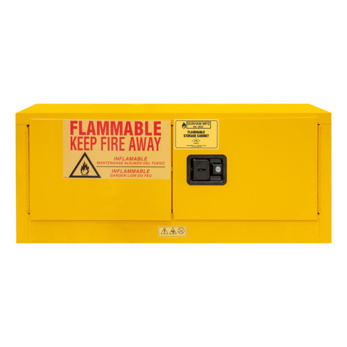 DURHAM 1012MH-50, Flammable storage, 12 gallon, manual