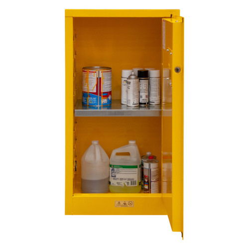 DURHAM 1016M-50, Flammable storage, 16 gallon, manual