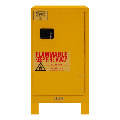 DURHAM 1016ML-50, Flammable storage, 16 gallon, manual