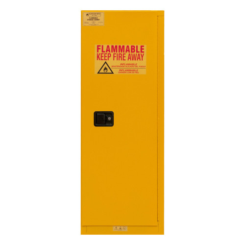 DURHAM 1022M-50, Flammable storage, 22 gallon, manual