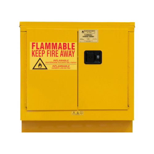 DURHAM 1022UCM-50, Flammable storage, 22 gallon, manual