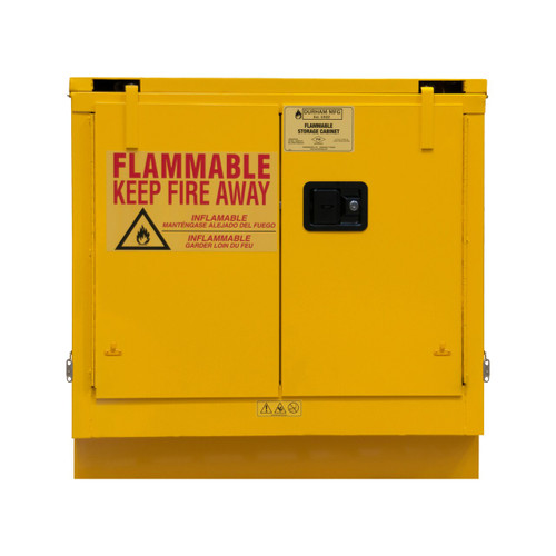DURHAM 1022UCS-50, Flammable storage, 22 gallon, self close