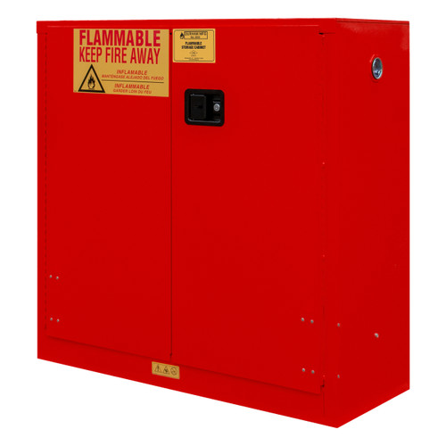DURHAM 1030M-17, Flammable Storage, 30 Gallon, Manual
