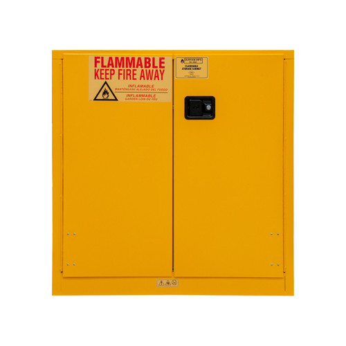 DURHAM 1030M-50, Flammable storage, 30 gallon, manual