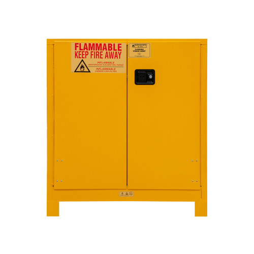 DURHAM 1030ML-50, Flammable storage, 30 gallon, manual