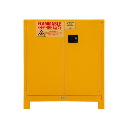 DURHAM 1030ML-50, Flammable storage, 30 gallon, manual