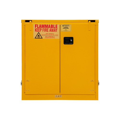 DURHAM 1030S-50, Flammable storage, 30 gallon, self close