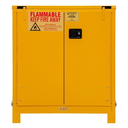 DURHAM 1030SL-50, Flammable storage, 30 gallon, self close