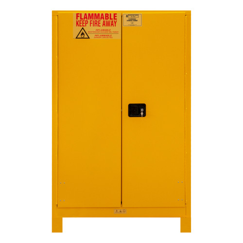 DURHAM 1090ML-50, Flammable storage, 90 gallon, manual