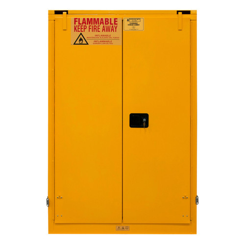 DURHAM 1090S-50, Flammable storage, 90 gallon, self close