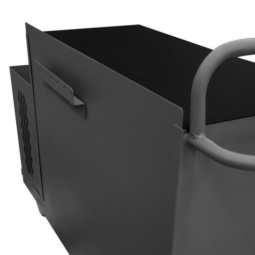 DURHAM 2211-DLP-6DR-RM-9B-95, Maintenance Cart, 6 drawer, 9 yellow bin
