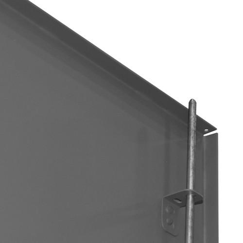 DURHAM HDC-203678-4S95, Cabinet, 20X36, 12 gauge, 4 shelves