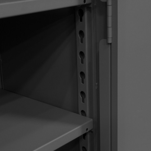 DURHAM HDC-247278-4S95, Cabinet, 24X72X78, 4 shelf, recessed
