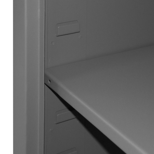 DURHAM HDCL-242478-4S-95, Locker, 16 Gauge, 4 shelf, 24 x 24 x 78