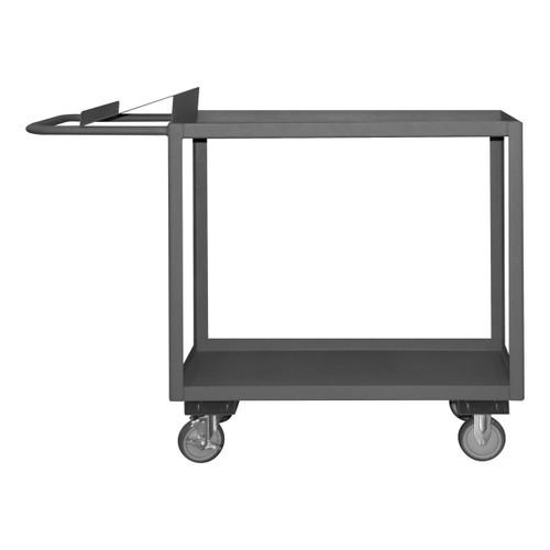 DURHAM OPC-3060-2-95, Order Picking Cart, slanted shelf