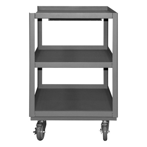 DURHAM PSD-2430-3-95, Portable Shop Desk, 3 shelves