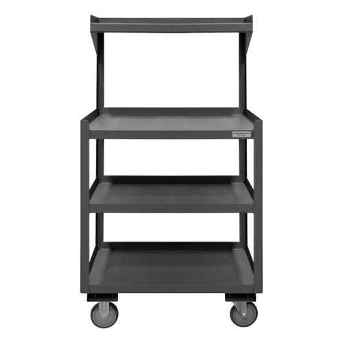DURHAM PSD-2430-4-95, Portable Shop Desk, 4 shelves
